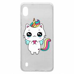 Чохол для Samsung A10 The cat is unicorn