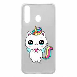 Чохол для Samsung A60 The cat is unicorn