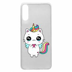 Чохол для Samsung A70 The cat is unicorn