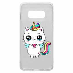 Чохол для Samsung S10e The cat is unicorn