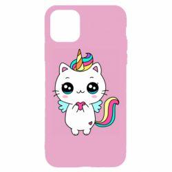 Чохол для iPhone 11 The cat is unicorn