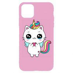 Чохол для iPhone 11 Pro The cat is unicorn