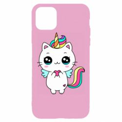 Чохол для iPhone 11 Pro Max The cat is unicorn