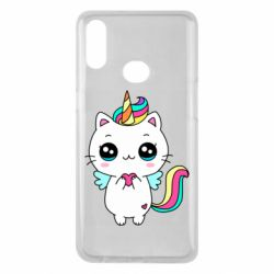 Чохол для Samsung A10s The cat is unicorn