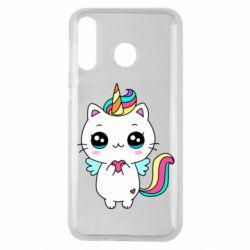 Чохол для Samsung M30 The cat is unicorn