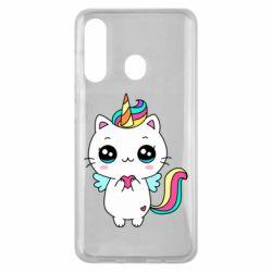 Чохол для Samsung M40 The cat is unicorn