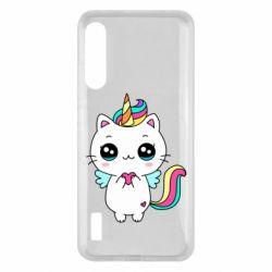 Чохол для Xiaomi Mi A3 The cat is unicorn
