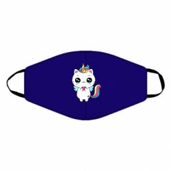 Маска для обличчя The cat is unicorn