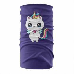 Бандана-труба The cat is unicorn