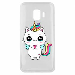 Чохол для Samsung J2 Core The cat is unicorn