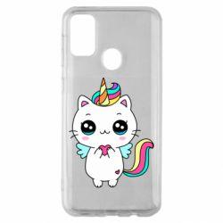 Чохол для Samsung M30s The cat is unicorn