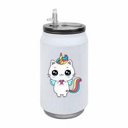Термобанка 350ml The cat is unicorn