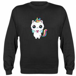 Реглан (світшот) The cat is unicorn