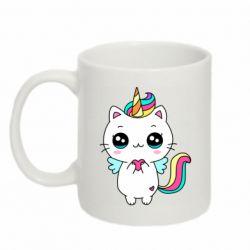 Кружка 320ml The cat is unicorn