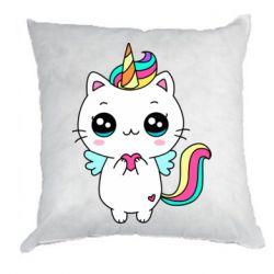Подушка The cat is unicorn