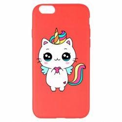 Чохол для iPhone 6 Plus/6S Plus The cat is unicorn
