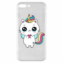 Чохол для iPhone 7 Plus The cat is unicorn