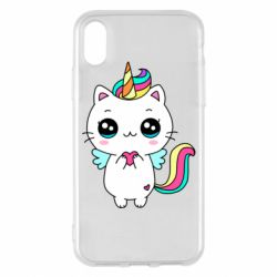 Чохол для iPhone X/Xs The cat is unicorn