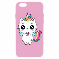 Чохол для iPhone 6/6S The cat is unicorn