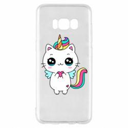 Чохол для Samsung S8 The cat is unicorn