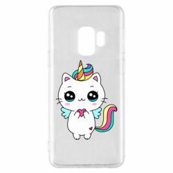 Чохол для Samsung S9 The cat is unicorn