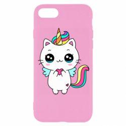 Чохол для iPhone 8 The cat is unicorn
