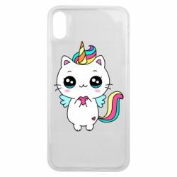 Чохол для iPhone Xs Max The cat is unicorn