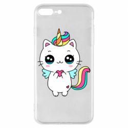 Чохол для iPhone 8 Plus The cat is unicorn