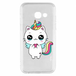 Чохол для Samsung A3 2017 The cat is unicorn