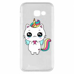 Чохол для Samsung A5 2017 The cat is unicorn
