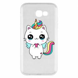 Чохол для Samsung A7 2017 The cat is unicorn