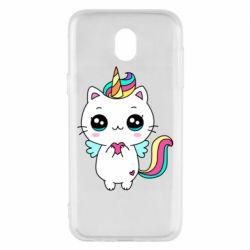 Чохол для Samsung J5 2017 The cat is unicorn