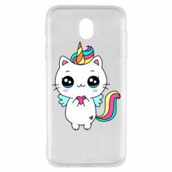 Чохол для Samsung J7 2017 The cat is unicorn