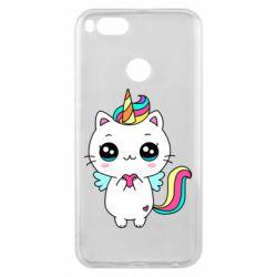 Чохол для Xiaomi Mi A1 The cat is unicorn