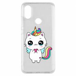 Чохол для Xiaomi Mi A2 The cat is unicorn