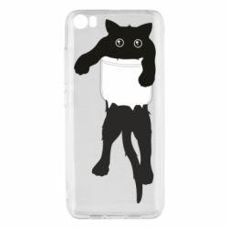 Чехол для Xiaomi Mi5/Mi5 Pro The cat tore the pocket