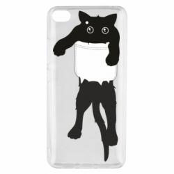 Чехол для Xiaomi Mi 5s The cat tore the pocket