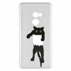 Чехол для Xiaomi Mi Mix 2 The cat tore the pocket