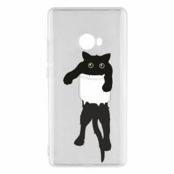Чехол для Xiaomi Mi Note 2 The cat tore the pocket