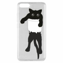 Чехол для Xiaomi Mi Note 3 The cat tore the pocket