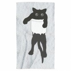 Полотенце The cat tore the pocket