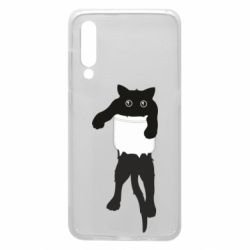 Чехол для Xiaomi Mi9 The cat tore the pocket