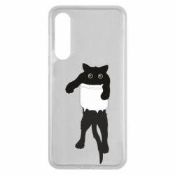 Чехол для Xiaomi Mi9 SE The cat tore the pocket