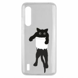 Чехол для Xiaomi Mi9 Lite The cat tore the pocket