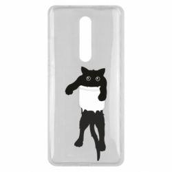 Чехол для Xiaomi Mi9T The cat tore the pocket