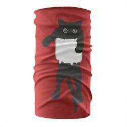 Бандана-труба The cat tore the pocket