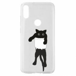 Чехол для Xiaomi Mi Play The cat tore the pocket