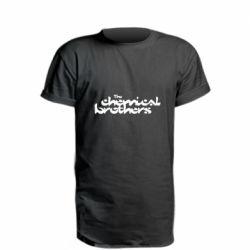 Подовжена футболка The Chemical Brothers logo