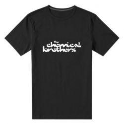 Чоловіча стрейчева футболка The Chemical Brothers logo