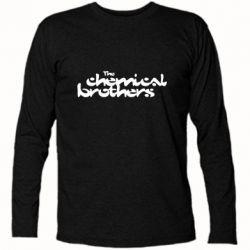 Футболка з довгим рукавом The Chemical Brothers logo
